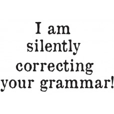 "Kruus ""I am silently correcting your grammar!"""